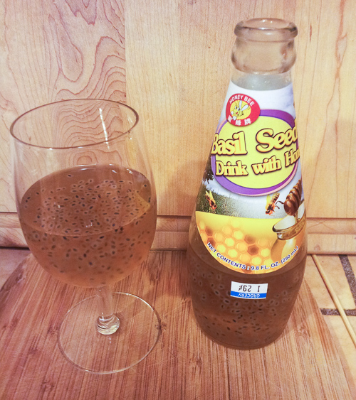 Basil Seed Drink with Honey