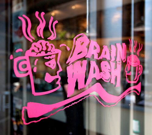 BrainWash Café and Laundromat, San Francisco California