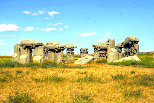 Stonehenge Replica - Carhenge, Alliance Nebraska