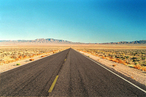 Extraterrestrial Highway, Nevada USA