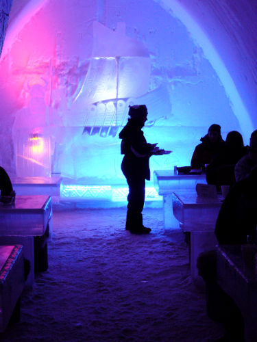 SnowCastle Ice Bar, Kemi Finland