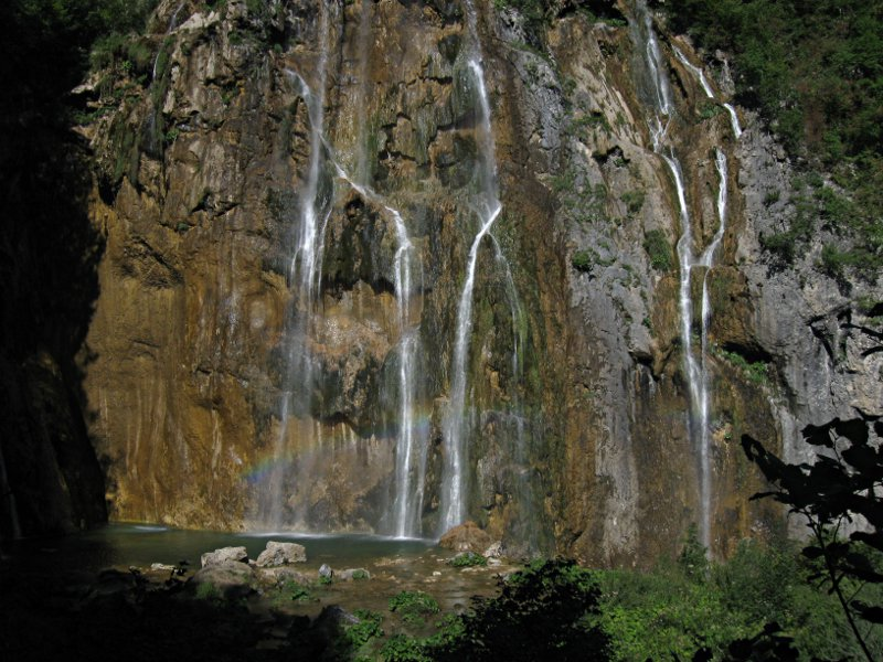 Plitvice Lakes: Big Waterfall