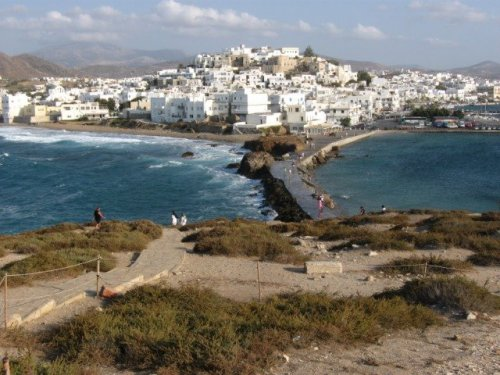 Photo of the Island of Naxos, Greece