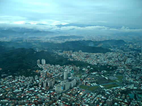 A View of Taipei from the Tallest Building in the World (2008)