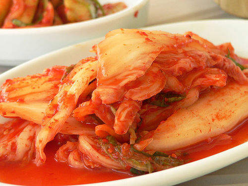 Photo of Korean kimchi cabbage