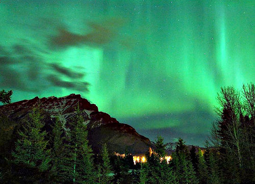 Northern Lights, Banff Canada