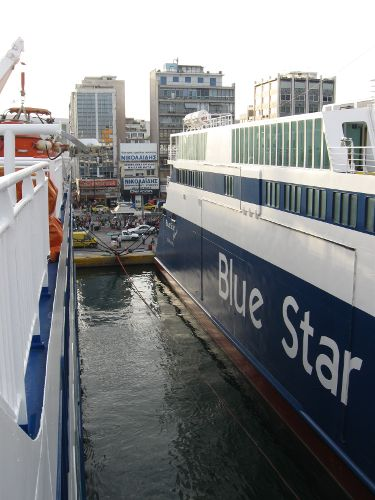 Piraeus ferry port