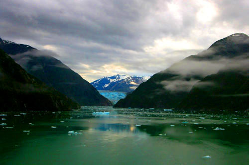 Sawyer Glacier, Alaska USA