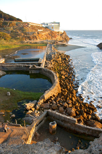 Photo of Sutro Baths, San Francisco California