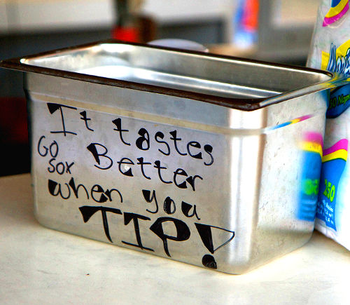 Tip Jar, United States