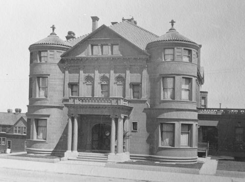 Photo of Whittier Mansion, San Francisco California