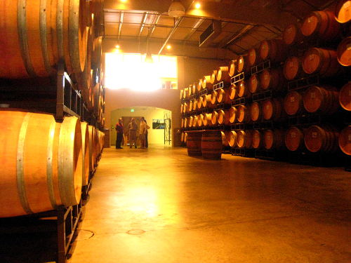 Photo of Barrel Room at Whitehall Lane